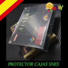 Funda Caja protectora cajas SuperNintendo Snes N64 JAGUAR Box Protector Snes