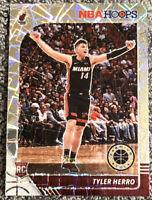 2019-20 NBA Hoops Premium Stock Tyler Herro RC Laser Prizm Rookie # 210