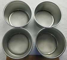 New listing New, Set of 4 Stainless Steel 6� Flour Strainers / Sieves