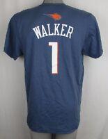 Charlotte Bobcats Men's S, L #1 'Walker' Player T-Shirt NBA adidas Slate
