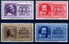 POSTA PNEUMATICA - GALILEO E DANTE, 2 SERIE NUOVE
