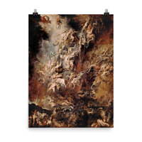 Peter Paul Rubens - The Fall of the Damned - painting