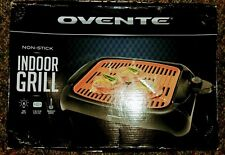 PORTABLE ELECTRIC GRILL BBQ Indoor Copper Smokeless Griddle Compact Barbecue