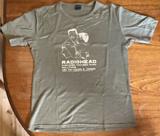 Very Rare Genuine Vintage Radiohead WASTE Green T-Shirt Circa 2000 Large/Medium