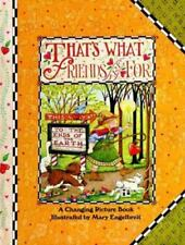 That's What Friends Are for (Changing Picture Books), , Good Condition, Book