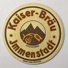 Bierdeckel Kaiser-Bräu Immenstadt
