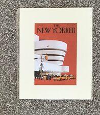The New Yorker Print - Guggenheim Museum
