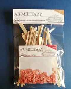 1/35 Scale Damaged Roofing Kit