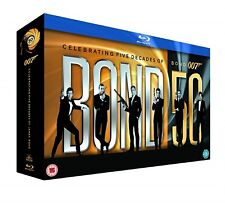 JAMES BOND - (2012) All 22 Movie 007 Films Collection 22-Disc Set Box Set Bluray