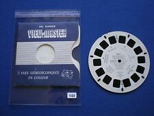 VIEW-MASTER - Villefranchie to Cap D'ail -  The Riviera  France    1956