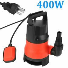1 HP 400W Electric Submersible Water Pump Swimming Pool Dirty Flood Sump Pump US