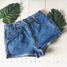 "United Colors of Benetton High Waist Denim Shorts Type De Nimes 27"" 6 8 Holiday"