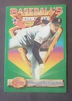 1993 Topps Finest ROGER CLEMENS #104 - Boston Red Sox, Jays, Astros, NY Yankees