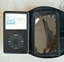 Apple iPod Clásico 6th generación 80 GB-Negro + Correr Manga!