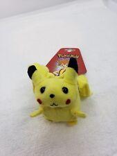 Pokemon Plush Pikachu Hair Tie Scrunchee vintage stage cosplay anime accessories