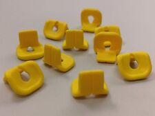 Bulk Lot Lego Part No.2610: Minifigure Yellow Life Jacket, Qty x 10