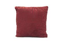 "Greek Key Decorative Throw  Pillow Cushion Sofa / Bed - 16""X16Inch"