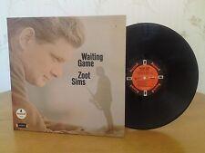 Zoot Sims,Waiting Game,Impulse!,A9131,1st Stereo Pressing,1966,VG+ Jazz Vinyl LP
