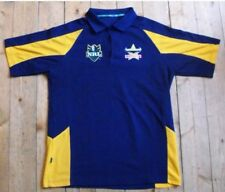 RARE NRL North Queensland Cowboys RUGBY JOUEURS/partisans Polo Shirt-Small?
