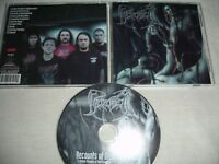 BEHEADED ‎– Recounts Of Disembodiment  CD 2002   Devourment  Disgorge