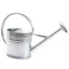 Zinkgießkanne 10 Liter Gießkanne Metallgießkanne verzinkt Blechkanne Deko