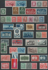 Norway part of a collection with many complete SETS and a sheet 1962-1979 mnh