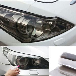 Light Black Chameleon Car SUV Headlight Taillight Tint Film Sticker Accessories