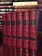 Easton Press Complete Jane Austen 6 Volume Sealed Pride Sense Emma Leather Gift