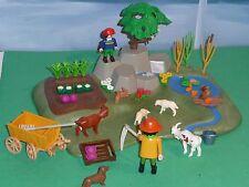 Playmobil 3124 Superset Gemüsegarten mit Zubehör sehr gut erhalten Bauernhof