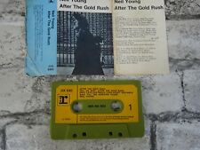 NEIL YOUNG - After The Gold Rush / Cassette Album Tape / 1st Issue (1970) 4084
