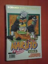 NARUTO GOLD- deluxe- N°3- DI:MASASHI KISHIMOTO- MANGA PANINI- esaurito