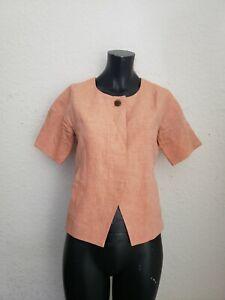J Crew Pink Linen Blazer Jacket Size 2