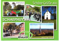 47509 Schaephuysen  -  St.Michaelturm - Ständebrunnen - Finkenberger Kapelle