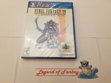 * New *  Final Fantasy XII 12  The Zodiac Age - Sony PlayStation 4  * Sealed *