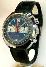 ELECTRA Tachymètre Chronograph Valjoux 7734 Seventies Style YEMA Rallye