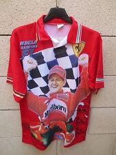 Maillot Formule 1 SCHUMACHER trikot maglia SCHUMY SCHUMI shirt scuderia vintage