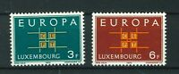 Luxembourg 1963 Europa full set of stamps. MNH. Sg 730-731.
