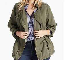 1ad0cfecde5 NWT  129 Lucky Brand Asymmetrical Military Jacket 1X 7Q30961