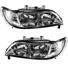 Halogen Headlights Headlamps New Pair Set For 1997 1998 1999 Acura Cl Fits