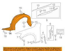 01-09 LEXUS IS300 IS250 IS350 SET OF 5 FENDER SPLASH SHIELD LINER CLIP NEW 07166