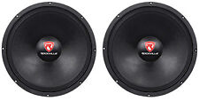 "(2) Rockville RVW1500P8 3000w 15"" Raw DJ Subwoofers 8 Ohm Subs 70OZ Magnet"