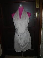 Beautiful All Saints Unity Dress Brown Size 12 Excellent Condition