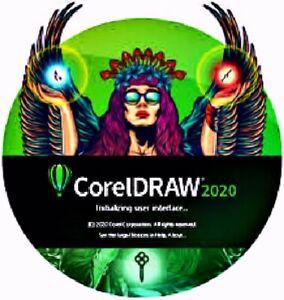 BRAND NEW CORELDRAW  GRAPHICS SUITE 2020 FULL VERSION GENUINE COREL SOFTWARE.
