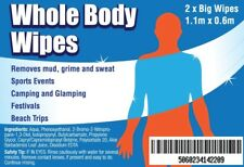 WHOLE BODY WIPES | CAMPING | FESTIVALS | BEACH TRIPS | TOUGH MUDDER | FREE P&P