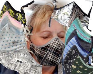 Nase Mund Schutz Maske ergonomische Formmaske  in verschiedenen Design und Farbe