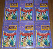 LOT 6 ANASTASIA AUDIO BOOK CASSETTE TAPE SET Children's Read Along Golden Books
