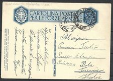 Leros covers 1936 Military PC Leros to Treviso