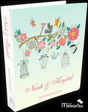 Wedding Planner/birds of love/Book/Keepsake momento/Personalised/engagement gift