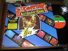Alex Harvey Band 70s ROCK LP Live 1975 USA ISSUE