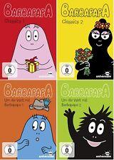 Barbapapa DVD Set, 1-4, I+II, Classics, um die Welt mit, Episoden, neu, deutsch